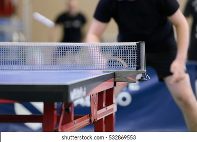 table with net for table tennis