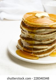 Table with Pancakes