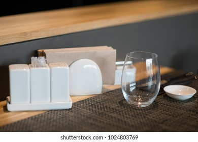 Table setting interior elements and silverware in japanese restaurant for sushi & Japanese Table Setting Images Stock Photos \u0026 Vectors   Shutterstock