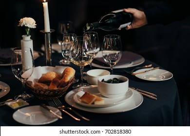table setting for a lovey dinner/ table setting/ table setting & Dinner Table Setting Images Stock Photos u0026 Vectors | Shutterstock