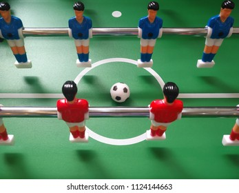 table soccer game or football game