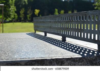 Table tennis outside
