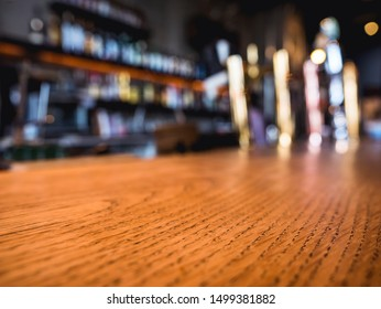 Table top counter Bar Beer tap Blur shelf Party background