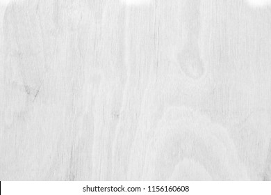 Table top view of wood texture over white light natural color background. Grey clean grain wooden floor teak panel backdrop with plain board pale detail streak finishing for chic space clear concept.