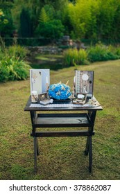 Table for wedding ceremony