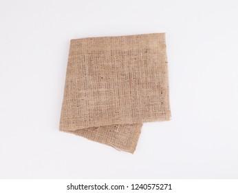 The tablecloth. Decorative cotton napkin.