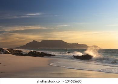 Tablemountain Capetown Sunset