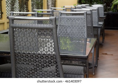 The Tables and Chairs (This picture is taken in a public area and be permitted to take picture for sale)