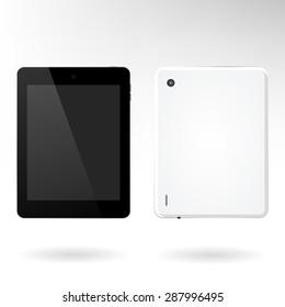Tablet front-back