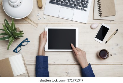 Tablet header image