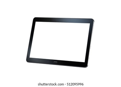tablet isolated on the white background
