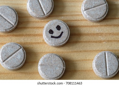 tablet of joy surrounded by other tablets