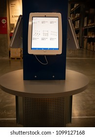 Tablet for Product Search in IKEA Shoping mall Thailand, 24 May 2018