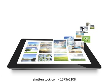 tablet ,social network structure