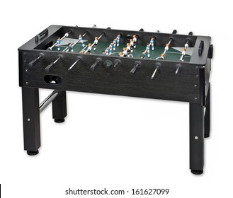 Tabletop soccer, isolated