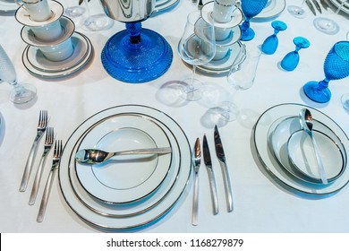 tableware in the store