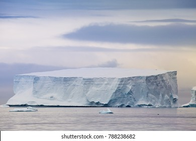 A tabular Iceberg in the Antarctic Sound, Antarctica