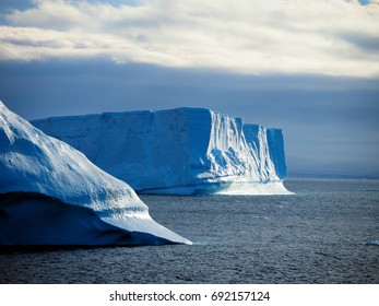 Tabular Iceberg Brown Bluff Antarctica