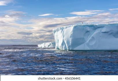 Tabular Icebergs in Canada