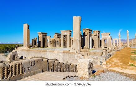 Tachara Palace of Darius at Persepolis, Iran
