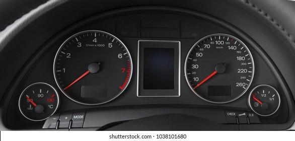tachometer speedometer auto shift lever
