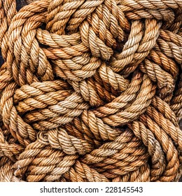 tackle jute ropes
