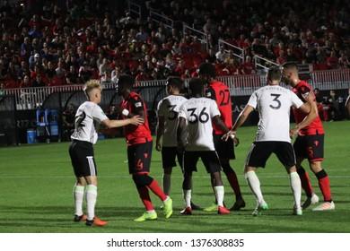 Tacoma Defiance  vs Phoenix Rising at Phoenix Rising Soccer Complex April 20,2019.