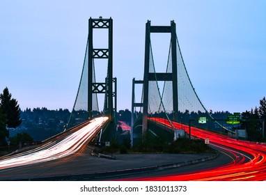 Tacoma Narrows Bridge Puget Sound