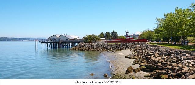 Tacoma, summer. Washington State. Public Park.