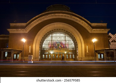 TACOMA, WASHINGTON/UNITED STATES - APRIL 24: This building was previously Union Station but now houses a Federal Courthouse for the United States on April 24, 2013.
