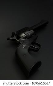 Tacoma, WA/USA - April 2 2018: Ruger Blackhawk .44 Special Revolver