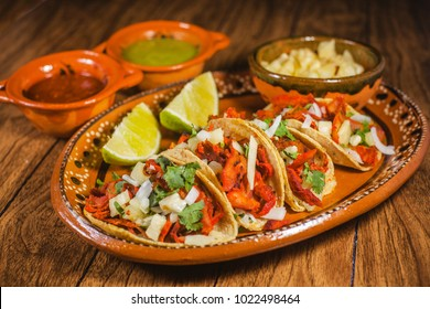 tacos al pastor mexican food in mexico city