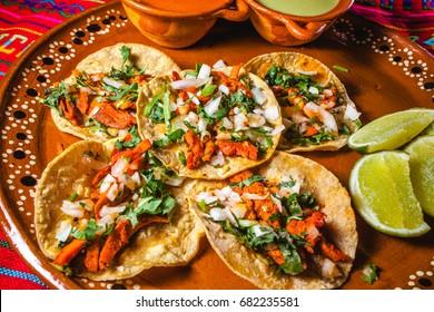 tacos al pastor, mexican food, mexico city