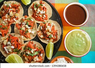 tacos al pastor, mexican taco, street food in mexico