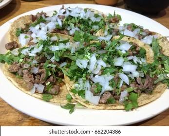 Tacos de bistec