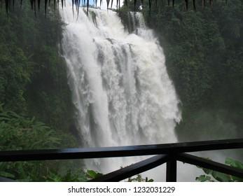 Tad Gneuang Waterfall Ban Paksong,  Champasak, Laos