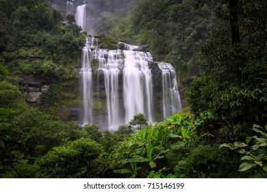 Tad Khamued waterfall, Bolaven Plateau, champasak, Lao