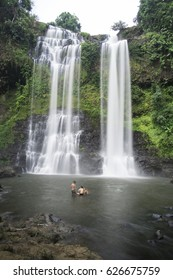 Tad Yuang waterfall on the Bolaven Plateau in Laos