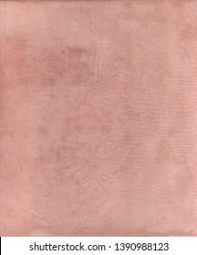 Tadelakt sample, lime coating ecologic and natural. Pink texture background