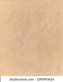 Tadelakt sample, lime coating écologic and natural. Beige ocre color texture background
