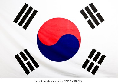 Taegeukgi is the national flag of Korea.