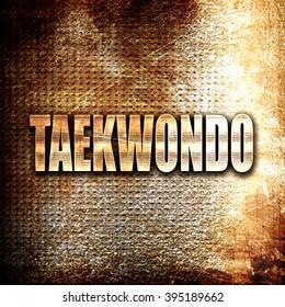 taekwondo sign background