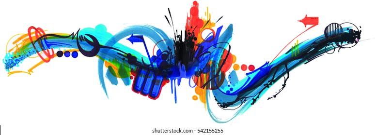 Tag Graffiti background