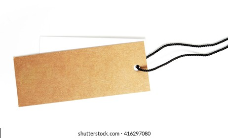 Tag label isolated on a white background,This has a clipping path.