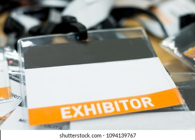 tag name exhibitor position