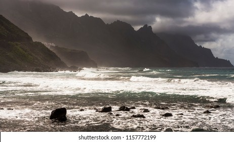 Taganana Benijo wild coastline