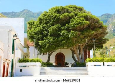 Taganana small village in Tenerife Island, Spain. Tourism in Tenerife.