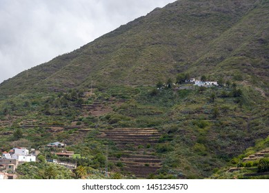 Taganana village on the island of Tenerife-Canary Islands Spain. The concept of tourism and recreation.