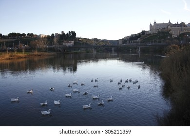 Tagus river, Toledo,peace, calm, serenity, harmony, fullness, well-being, nature, natural, contemplate, meditate, breathe, grow, happiness, tranquility, fulfillment, integration,
