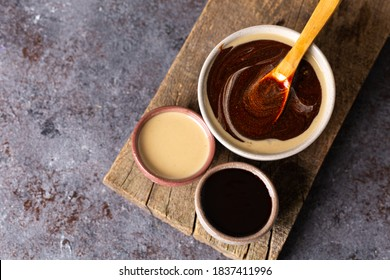 Tahini and Molasses / Turkish Tahin Pekmez